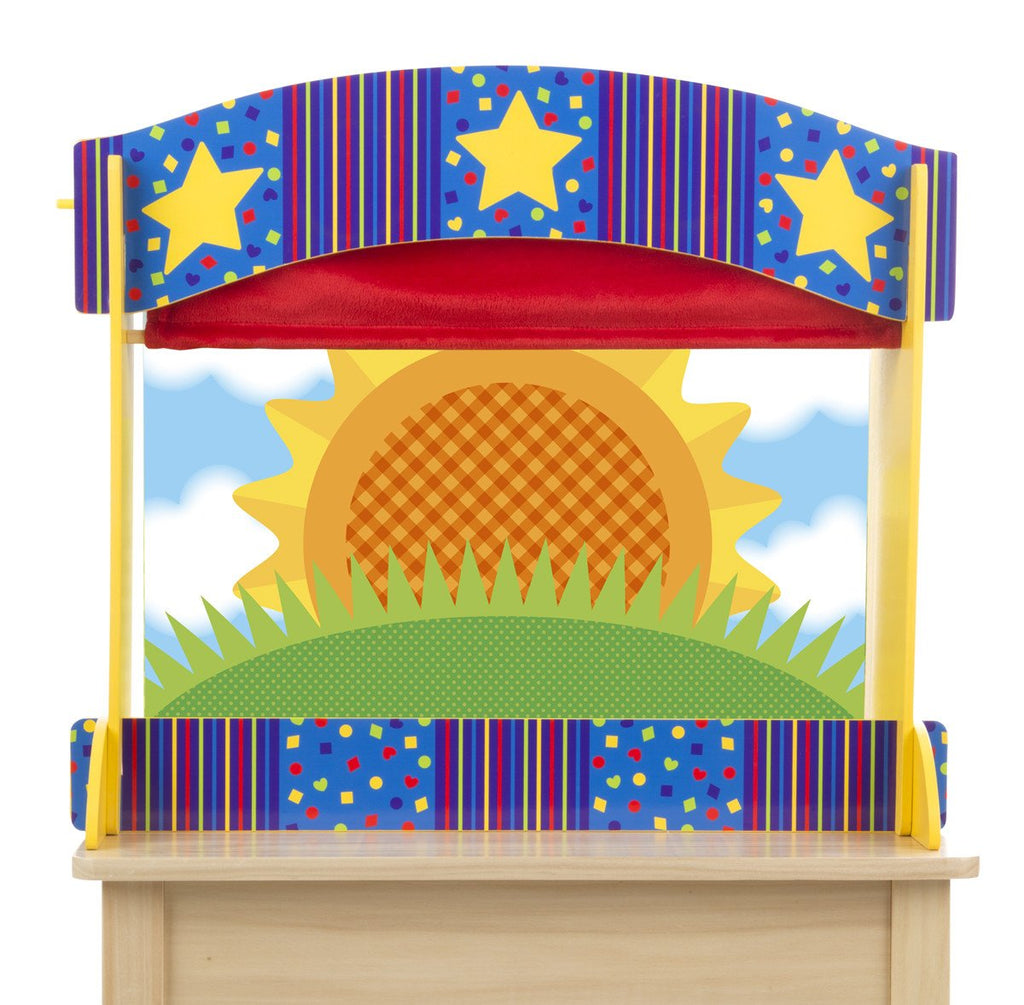 Melissa Doug Tabletop Puppet Theater 2536