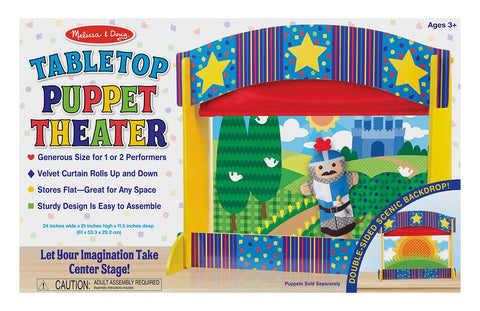 Image of Melissa Doug Tabletop Puppet Theater 2536