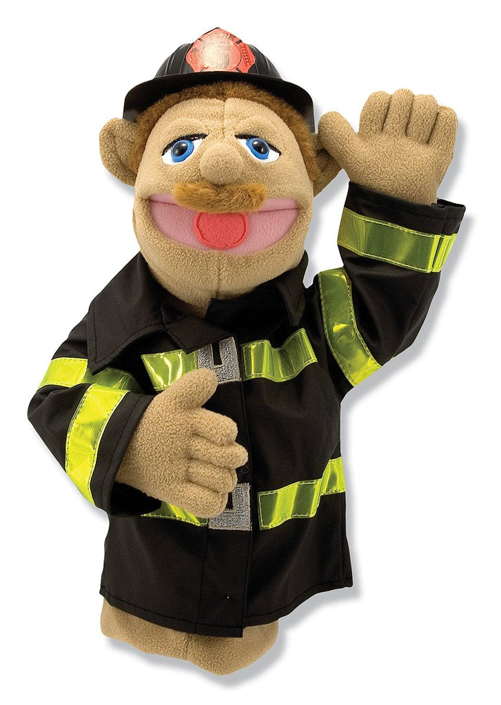 Melissa Doug Firefighter Puppet 2552