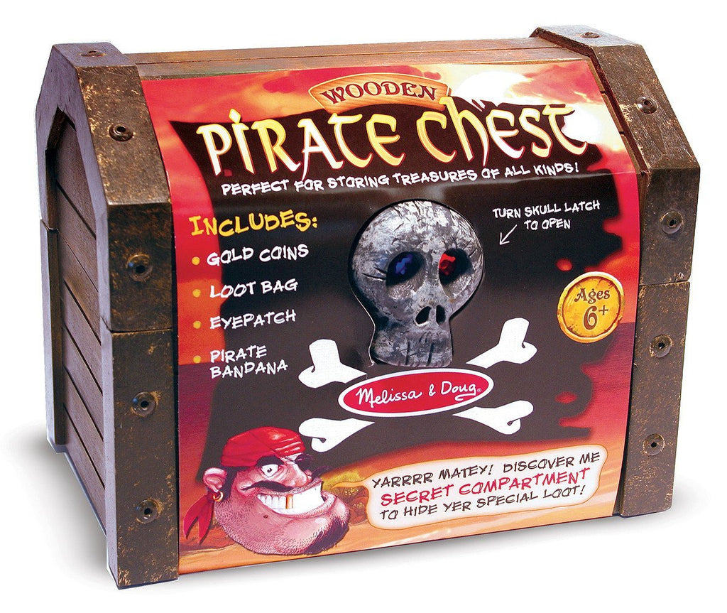 Melissa Doug Pirate Chest 2576