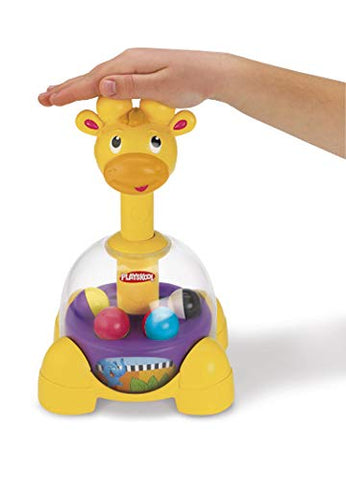 Image of Playskool Giraffalaff Tumble Top toy, 6 months and up