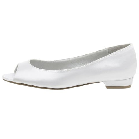 Dyeables Women's Kara Dyeable Pump,White,7.5 W