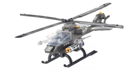 Air Force Attack Helicopter 3 in 1 - Building Set by Brictek (15706)