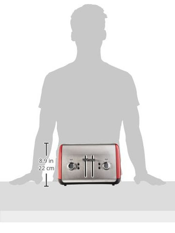 Image of KitchenAid KMT4115ER Toaster with Manual High-Lift Lever, Empire Red