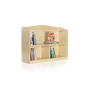 Guidecraft 3-Shelf Bookshelf: Display Books, Toys & Games, Kids' Storage Stand, School Classroom or Playroom Furniture