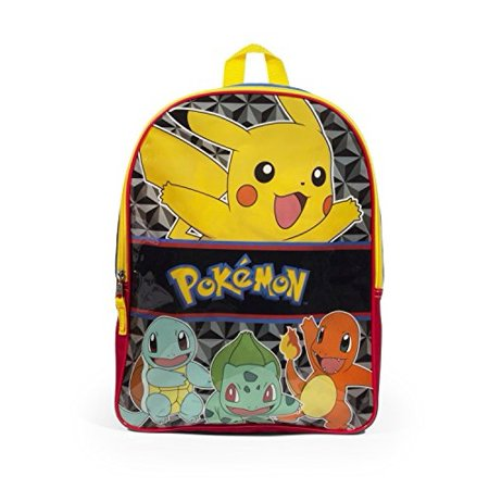 Pokemon Pikachu 16 Inch Multi Colored Backpack