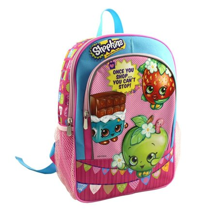 Shopkins Once You Shop You Cant Stop Large Backpack