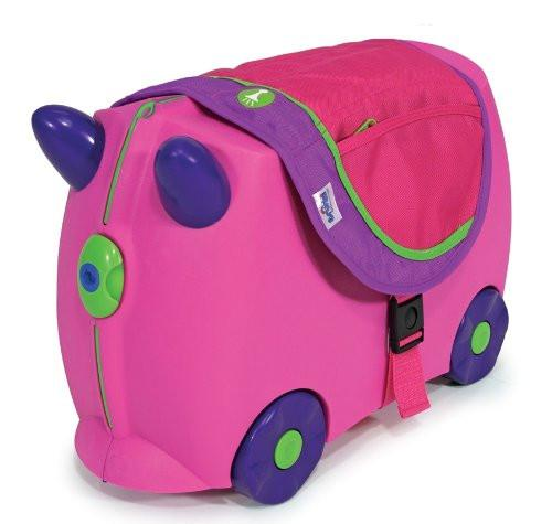 Melissa Doug Trunki Saddlebag - Pink/Purple