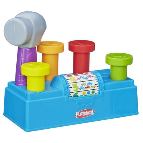 Image of Playskool Tap n Spin Toolbench
