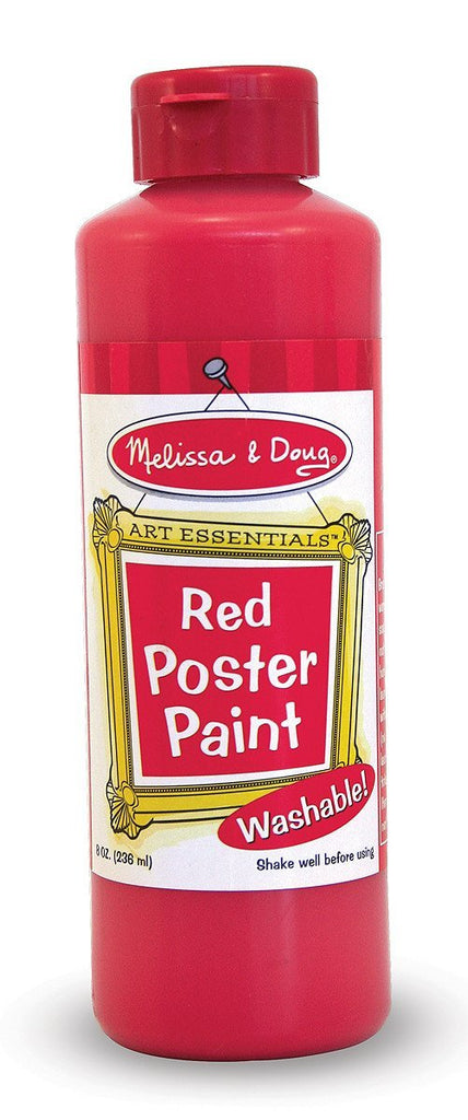Melissa Doug Red Poster Paint (8 oz) 4137