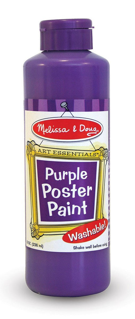 Melissa Doug Purple Poster Paint (8 oz)  4142