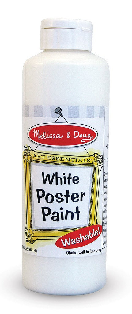 Melissa Doug White Poster Paint (8 oz) 4144