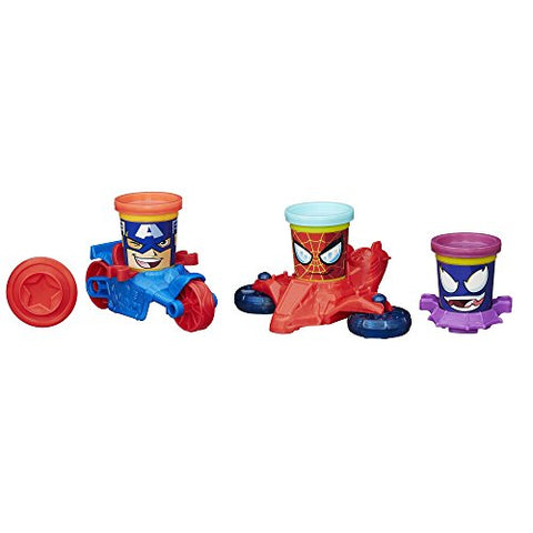 Image of Play-Doh Marvel Can-Heads Vehicles