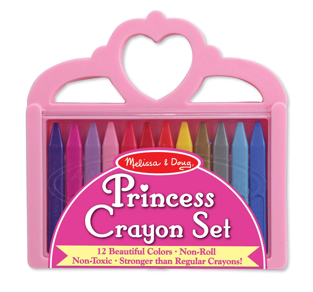 Melissa Doug Princess Crayon Set 4155
