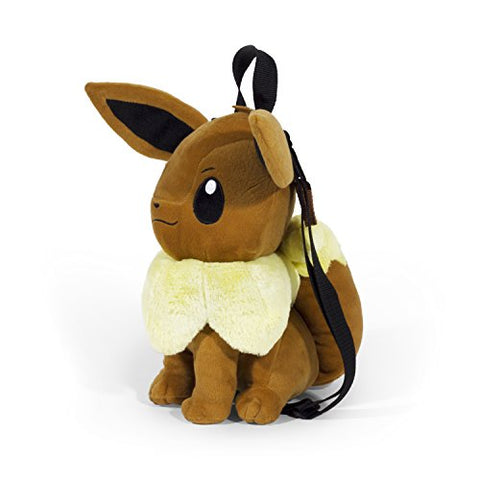 Image of Pokmon Eevee Plush 15 inch Backpack, Brown