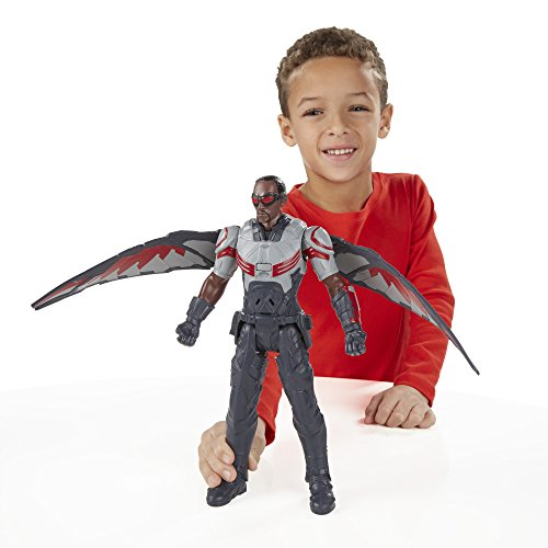 Marvel Titan Hero Series Marvels Falcon Electronic Figure
