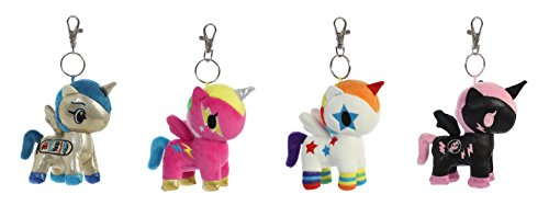 tokidoki Aurora World Unicorno Plush Clip-on Collectible Series 2 Single Blind Bag