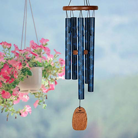 Image of Woodstock Chimes Butterfly Original Guaranteed Musically Tuned Chime Garden