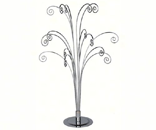 Fiddlehead Counter Display - Silver
