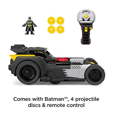 Image of Fisher-Price Imaginext DC Super Friends Transforming Batmobile R/c