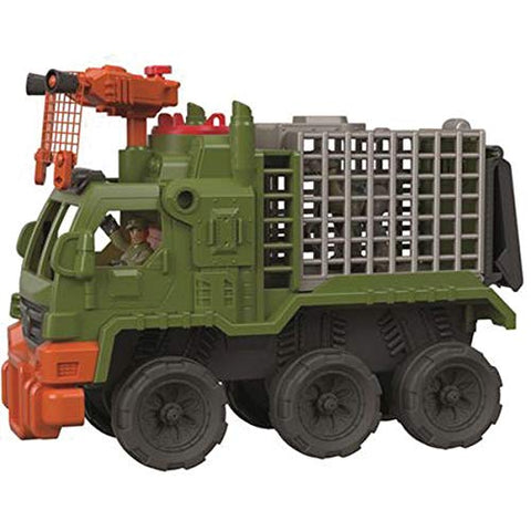 Image of Fisher-Price Imaginext Jurassic World Dinosaur Hauler