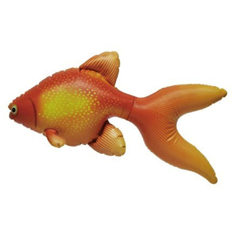 Image of Troubling of 3 Fantail Goldfish (Inflatable: L20 inches)
