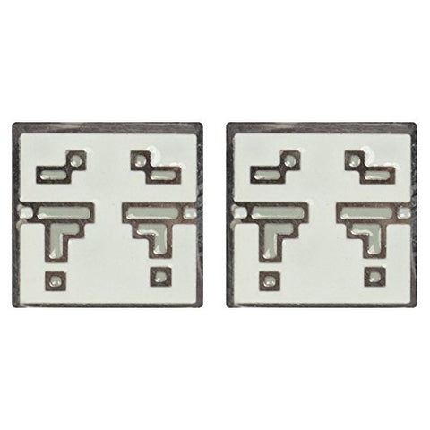 Image of JINX Minecraft Video Game Ghast Enamel Stud Earrings