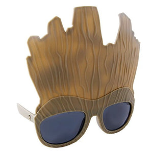 Costume Sunglasses Guardians of the Galaxy Groot Sun-Staches Party Favors UV400