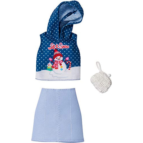 Image of Barbie Holiday Fashions - Snowman