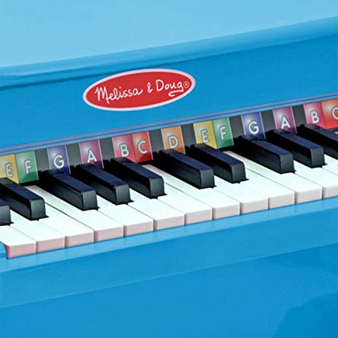 Image of Melissa & Doug Learn-to-Play Piano, Blue