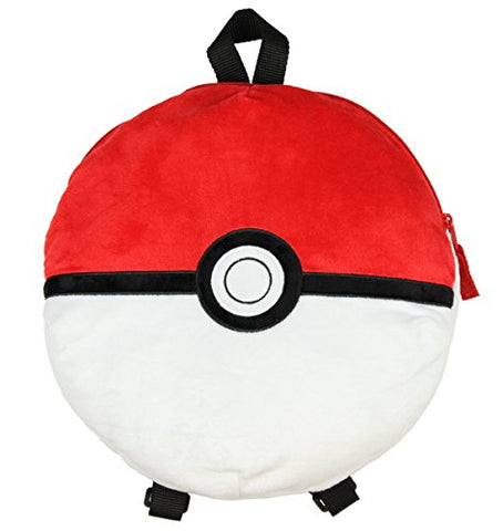 "Pokemon 12"" Pokeball Plush Backpack"