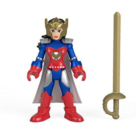 Imaginext DC Super Friends Series 4 Flashpoint Wonder Woman Foil Pack