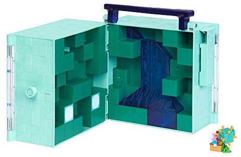 Image of Minecraft Aquatic Biome Collector Case Based on Video Game