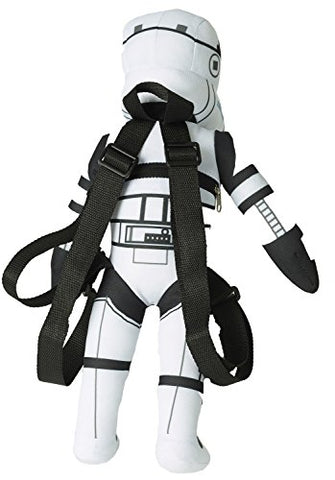 "Image of Zoofy International Star Wars 17"" Plush Backpack - Stormtrooper"