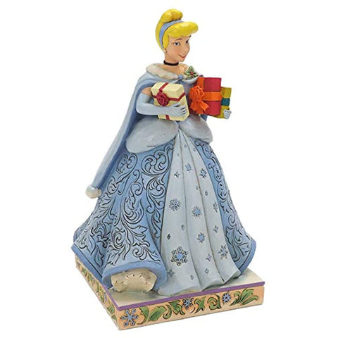 Enesco Disney Traditions By Jim Shore Christmas Cinderella Figurine