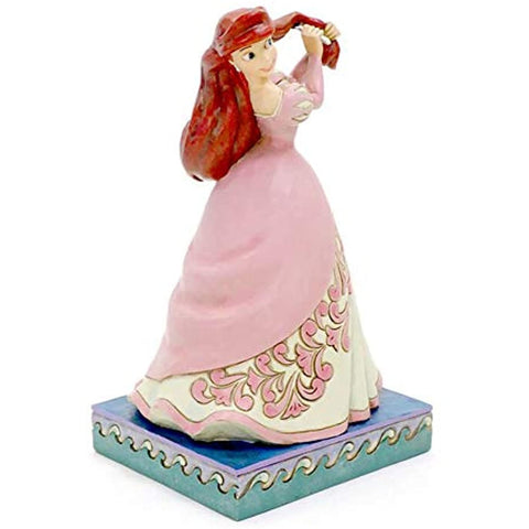 Enesco 6002819 Disney Traditions by Jim Shore Princess The Little Mermaid Passion Ariel Figurine, 7 Inch, Multicolor