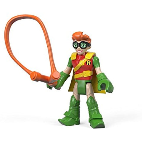 Imaginext DC Super Friends Series 4 Carrie Kelley Robin Foil Pack