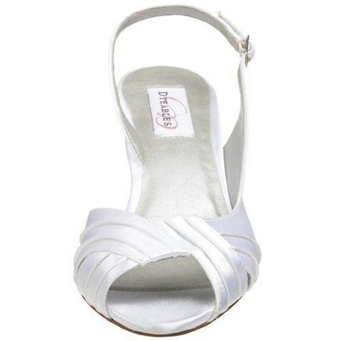 Image of Dyeables Women's Nicky Sandal, White, 8 E US