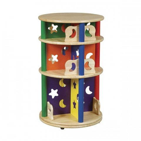 Guidecraft Moon & Stars Media Storage Carousel