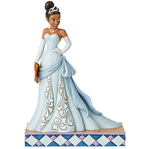 Enesco Disney Traditions by Jim Shore The Princess and The Frog Passion Tiana Figurine, 7.5 Inch, Multicolor