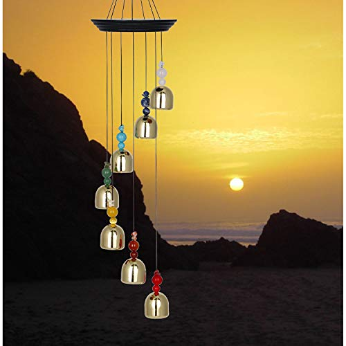 Woodstock Chimes WCB The Original Guaranteed Musically Tuned Chime Hanging Bells, Chakra