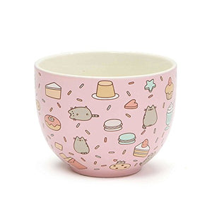 Pusheen by Our Name is Mud Snack Bowl Stoneware Bowl