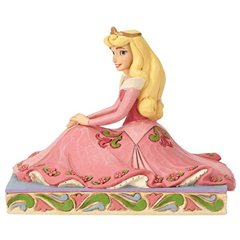 Enesco Disney Traditions by Jim Shore Aurora Personality Pose Figurine, 3.5 Inch, Multicolor