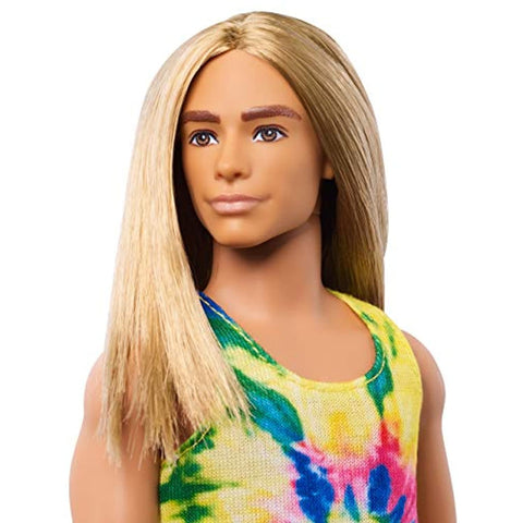 Ken Fashionistas Doll with Long Blonde Hair
