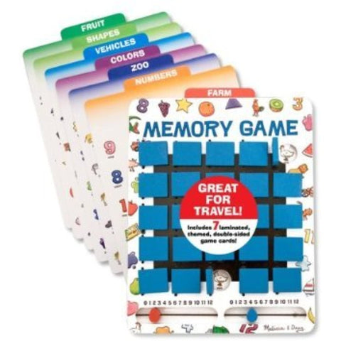 2 X Melissa & Doug Flip to Win Memory Game