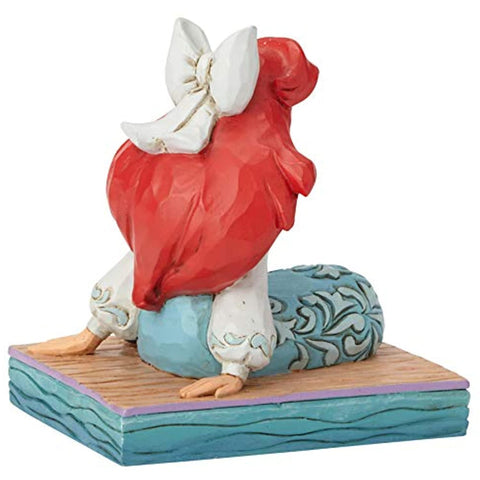 Image of Enesco Disney Traditions by Jim Shore Ariel Personality Pose Figurine, 3.5 Inch, Multicolor