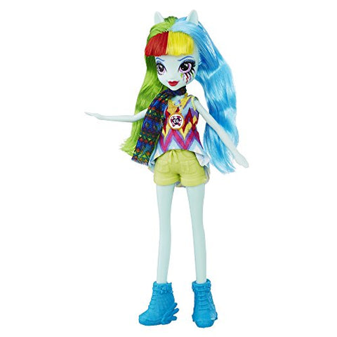 Image of My Little Pony Equestria Girls Legend of Everfree Rainbow Dash Doll