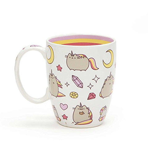Enesco Pusheen by Our Name is Mud Magical Pusheenicorn Stoneware Coffee Mug, 12 oz.