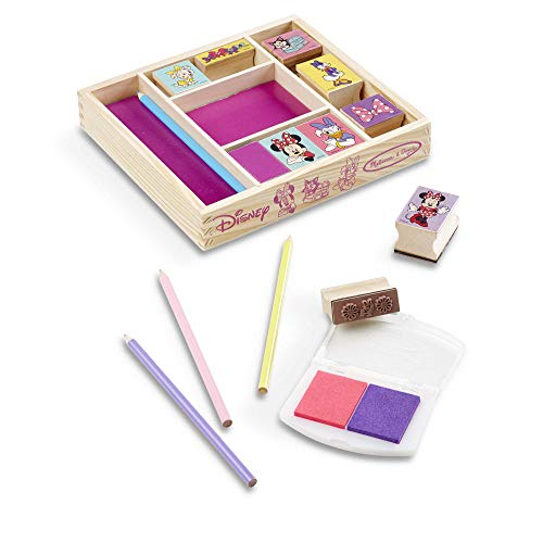 Melissa & Doug Minnie Wooden Stamp Set