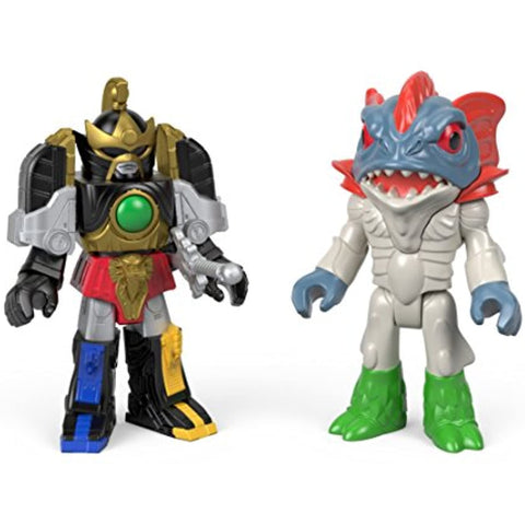Image of Fisher-Price Imaginext Power Rangers Thunder Megazord & Pirantishead